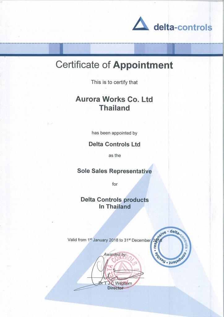 aurora-represent-certificate_2018_delta-controls